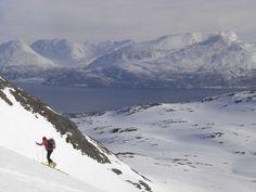 #Lyngen Alps, #Norway