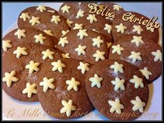 Biscotti Cookies, Thai Recipes, Gingerbread Cookies, Nutella, Good Food, Food And Drink, Healthy, Cake, Desserts
