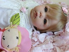 REBORN  BABY GIRL ELLY KNOOPS LUCA NEW SUPERSOFT VINYL HEAD & LIMBS TAKE A LOOK!