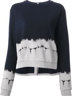Shop Stella McCartney dye print sweater in Dell'oglio from the world's best independent boutiques at farfetch.com. Over 1000 designers from 60 boutiques in one website.