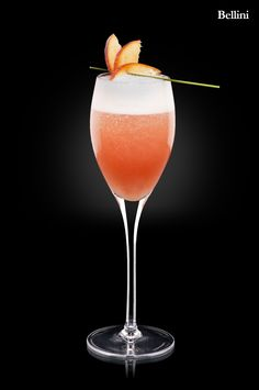 Bellini have to have a beautiful bellini with real peach nectar at wedding