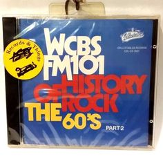 WCBS FM101 of History of Rock the 60's Part 2 (1991) CD - NEW/Factory Sealed 90431250129 | eBay