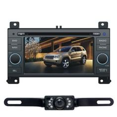 """For Jeep Grand Cherokee 2011 6.2"""" Car DVD Player GPS Navigation Rear Camera Radio Bluetooth iPod Free Map CD6221R by Tyso USA. $434.70. For Jeep Grand Cherokee 2011 6.2"""" Car DVD Player GPS Navigation Rear Camera Radio Bluetooth iPod Free Map CD6221R    **Note** * pls make sure the unit fit for your car before order * Pls note that a harness may required to install the product on vehicles that have JBL system. And this item doesn't include this harness.  * Usual..."""