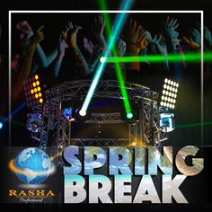 Spring Break Is Finally here!!  lets light up your party, lets light up your world!  www.rashaprofessional.com  #rashaprofessional #rasha #light #color #RGBA #stage #namm #proud #member #lighting #events #lights #concerts #theater #letslightupyourworld #led #uplights #dj #party #clubs #architecture #landscape #music  #wedding #springbreak