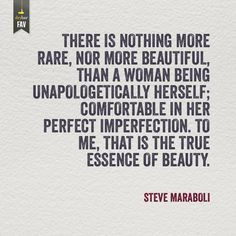 Be unapologetic for who you are.