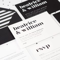 """Project Pretty on Instagram: """"If you are looking for modern minimal style wedding invitations, then our Billie design may be just the ticket! We love a monochrome invite…"""" Minimal Style, Minimal Fashion, Wedding Stationery, Wedding Invitations, Monochrome Weddings, Minimal Wedding, Navy Background, Our Love, Ticket"""