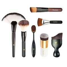 Cheap brush kit, Buy Quality brush set directly from China pcs professional Suppliers: HUAMIANLI 7 Pcs Professional Beauty Makeup False Eyelashes Brush Set Makeup Brushes Foundation Powder Eyeliner Brushes Kit Contour Brush, Eyeliner Brush, Contour Makeup, Makeup Brush Set, Beauty Makeup, Face Makeup, Blush Brush, Brush Kit, Powder Puff