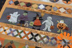 Piece N Quilt: Halloween Saturday Sampler