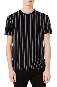 Main Image - Topman Vertical Stripe T-Shirt