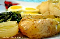 Bacalhau e Batatas ao Murro.