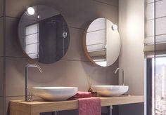 Domus Linen uudet magneetilla kiinnitettävät LOOP-peilivalot #koti #sisustus #sisustussuunnittelu #domusline #valaistus #peilit #kylpyhuone #yritysmyynti #tukkumyynti #helakeskus