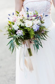 Textured Bouquet with Greenery