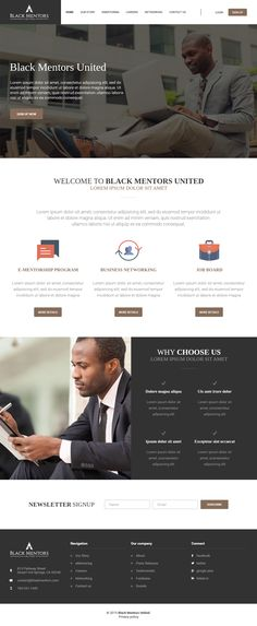 Black Mentors United, LLC will provide online mentoring (e-mentoring), business networking, and increased social interaction to professional African Americans in targeted communities throughout the United States