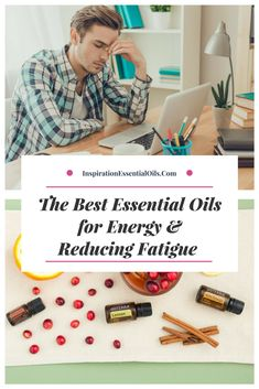 Essential Oils for Energy & Reducing Fatigue - Inspiration Essential Oils Essential Oils For Depression, Essential Oils For Anxiety, What Are Essential Oils, Young Living Essential Oils, Best Medication For Depression, Oils For Energy, Oil Free Makeup, Lack Of Motivation, Lack Of Energy