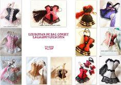 [Inscription : https://www.facebook.com/events/196940990490908/]  Les bijoux de sac corset en feutrine, 17 € plus 4 €uros de fdp en lettre suivie plus d'info sur mon site http://www.lacaudry-creation.fr/