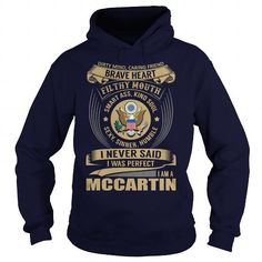cool It's MCCARTIN Name T-Shirt Thing You Wouldn't Understand and Hoodie