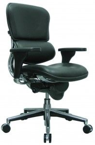 """Buying a chair consideration #2. Testing a chair before buying is important. Buying a chair unseen and untested can be risky. A chair that promises """"lumbar support,"""" for example, can be either highly comfortable or highly uncomfortable depending on the placement, firmness and adjustability of the support. Visiting a dealer showroom, then, gives you the opportunity to try out a wide range of chairs before making a final decision."""