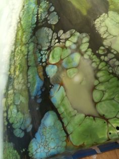 beautiful encaustic work