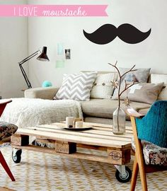 Home Shabby Home:Movember - Moustache