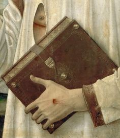 Giovanni Bellini - Christ Blessing, detail. 1460