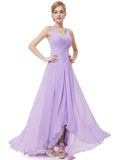 Ever-Pretty is the place to find hundreds of beautiful gowns and affordable dresses in unique and fashion-forward styles. We are known for our beautiful bridesmaid dresses, evening dresses, cocktail dresses. Formal Evening Dresses, Elegant Dresses, Evening Gowns, Nice Dresses, Lilac Bridesmaid Dresses, Prom Dresses, Bridesmaids, Affordable Dresses, Costume