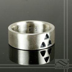 Its Dangerous to Go Alone  Triforce Wedding Band by mooredesign13, $140.00