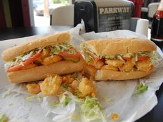 Here they are: the best po' boys in New Orleans #sandwich