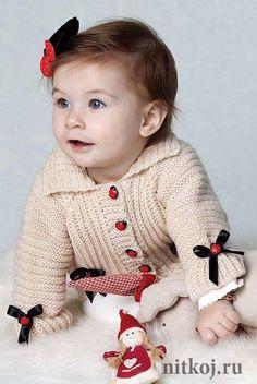 20 Tane Örgü Bebek Hırka ve Yelek Modeli   Hobilendik