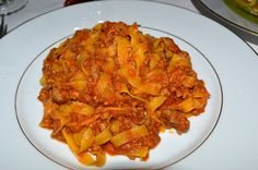Tagliatelle with meat ragu (alla bolognese) l Alexandra D. Foster Destinations Perfected: Milan, Italy - Giacomo Bistrot