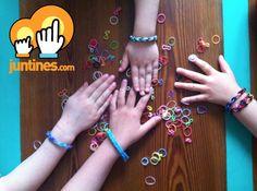 Cómo hacer pulseras de gomitas Rainbow Looms