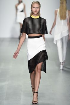 See the David Koma Spring 2015 collection on Vogue.com.