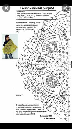 Crochet shawl pattern diagram free knitting 48 ideas for 2019 Poncho Au Crochet, Crochet Shawl Diagram, Crochet Motifs, Crochet Shawls And Wraps, Crochet Chart, Crochet Scarves, Crochet Lace, Crochet Stitches, Free Crochet