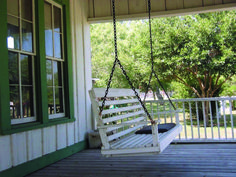 The captivating porch swing plan makes us able to enjoy the great view of our gardens and lawn by enjoying in our porch areas. A porch renovated with a swing seems the greatest plan to enjoy the pleasure of beautiful, fresh environment. You can sit a Porch Swing Frame, Patio Swing, Outside Swing, Backyard Swings, Porch Swings, House Construction Plan, Porch Area, Diy Porch, House With Porch
