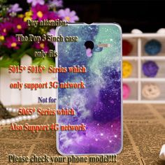 Silicone plastic 5inch 3G Version Cases For Alcatel OneTouch Pop 3 5016A 5016J 5015D 5015E One Touch Pop3 5015X 5015A Cases