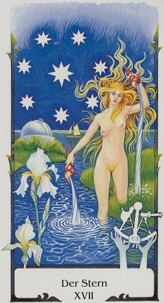 Tarot of the Old Path -- the Star