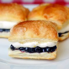 Rock Recipes -The Best Food & Photos from my St. John's, Newfoundland Kitchen.: Blueberry Lemon Mini Puff Pastries