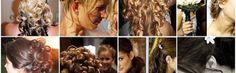 Svatební účesy z polodlouhých vlasů
