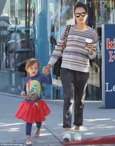 Jessica Alba spends quality bonding time with young daughter Haven   Daily Mail Online