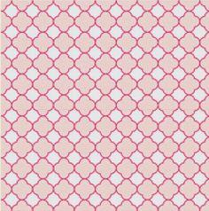 Pink Clover Cross Stitch Pattern