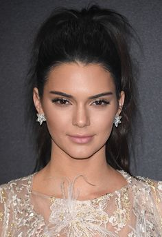 Kendall proves that a scruffy ponytail can totally work for a glam 'do. The best part? It's really simple to replicate. Scoop all your hair up and secure in a high pony, then pull at the roots slightly for a messy look and gently backcomb the ends