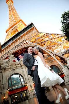 off to paris (las vegas) Wedding photo