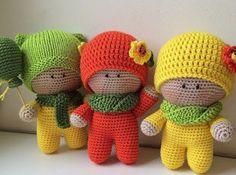 Amigurumi Little Boys-Free Pattern