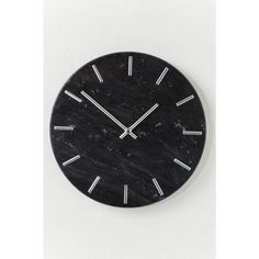 With beautiful deep black tones and a distinctive minimalist face, this marvellous marble wall clock makes for the perfect timepiece in any modern decor. How To Make Wall Clock, Marble Wall, Black Marble, Earth Tones, Modern Decor, Clocks, Minimalist, Creative, Deep