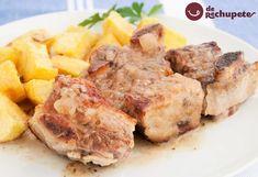 Un clásico en casa, cómo preparar falda de ternera asada, un plato sencillo y muy económico http://www.recetasderechupete.com/falda-de-ternera-asada/13241/ #receta