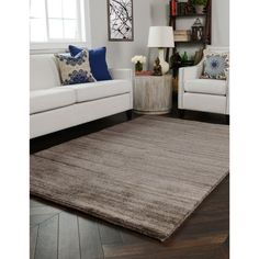 Kosas Home Hand Knotted Marley Cotton and Wool Rug (9'x12')  | Overstock.com Shopping - The Best Deals on 7x9 - 10x14 Rugs
