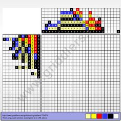 Griddlers Puzzle 178474 Fire Pokemon