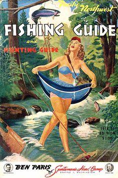 1958 Ben Paris Fishing Guide.