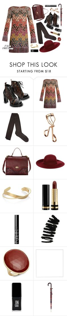 """""""Fall Dresses (Contest Entry)"""" by mormon-girl ❤ liked on Polyvore featuring Missoni, Raey, Tweezerman, Dry Lake, Gucci, NARS Cosmetics, Bobbi Brown Cosmetics, Marco Bicego, Menu and JINsoon"""