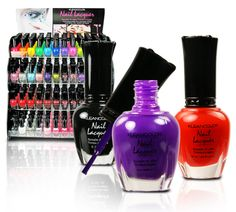 """I'm a nail polish junkie. I love the """"not so cheap"""" brands like Essie, OPI, China Glaze, Nicole, Illamasqua, and more... but this """"cheapy"""" have a special place in my heart, Kleancolor is AWESOME. This brand have a gazillion colors including a diversity of holo, glitter, neon, metallic & sheer colors, plus great treatments, and top quality formulas for only a $1 per bottle."""