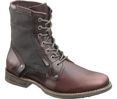 Canvas fashion - Mens Abe Canvas Boot - P716887 - Soft Toe Work Boots | CAT Footwear